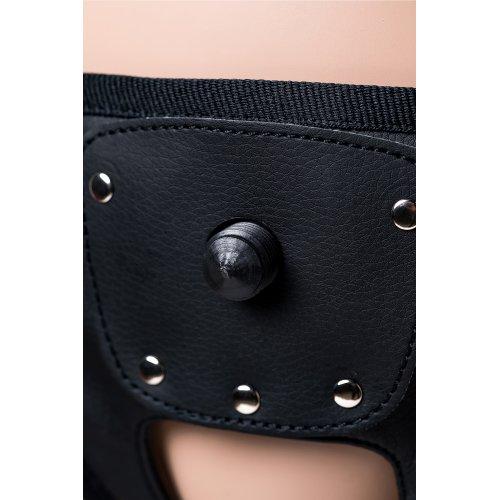 Страпон на креплении LoveToy с поясом Harness, реалистичный, neoskin, 20 см