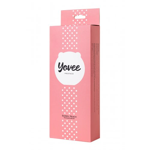 Массажер для лица Yovee Gummy Peach, розовый