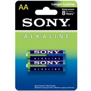 Батарейки Sony Alkaline пальчиковые AA 2 шт