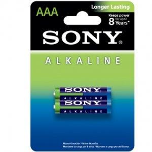 Батарейки Sony Alkaline мизинчиковые AAA 2 шт