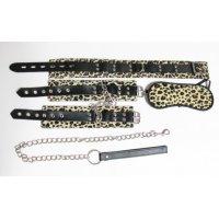 Леопардовый бондажный набор