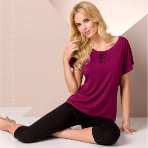 Фиолетовая ночная пижама M