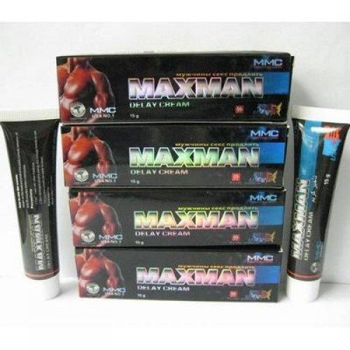 Maxman пролонгирующий крем для мужчин 15 мл