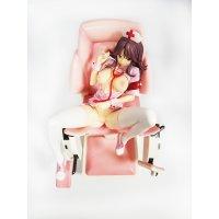 Аниме фигурка-статуэтка сексуальной медсестры на медицинском кресле