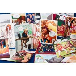 Эротическая открытка Libi Doo, в ассортименте