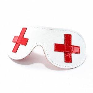 Маска из белой кожи медсестричка