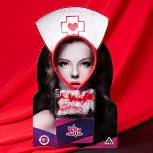 Эротический набор для двоих «Ахи-вздохи. Медсестра», 10 карт, 18+