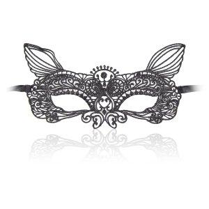 Кружевная маска лисички