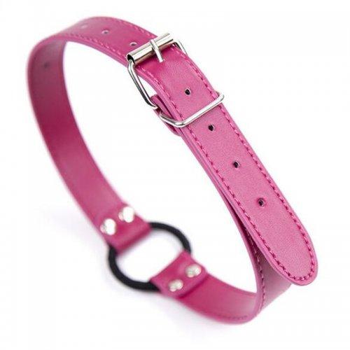 Кляп кольцо-расширитель розово-черный