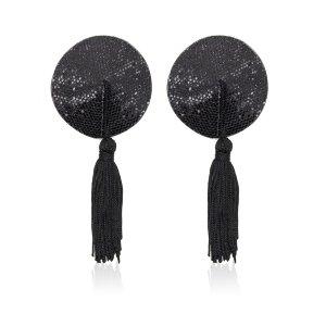 Черные пэстисы с кисточками