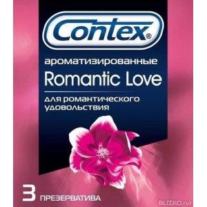 Презервативы Contex №3 Romantic Love ароматизированные