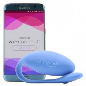 Smart вибратор We-Vibe Jive с дистанционный управлением синий