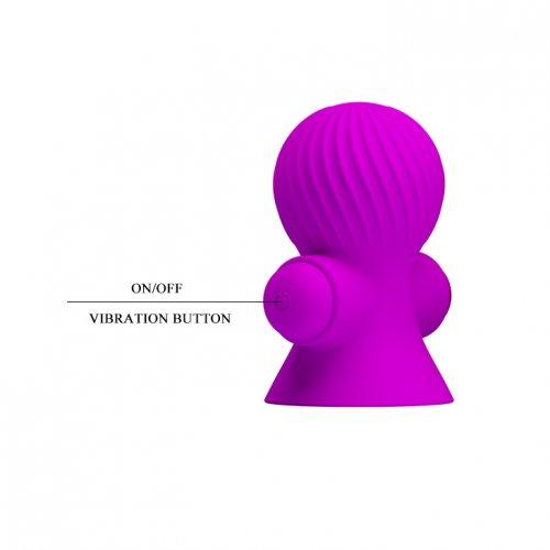 Вибропомпы для сосков пурпурные