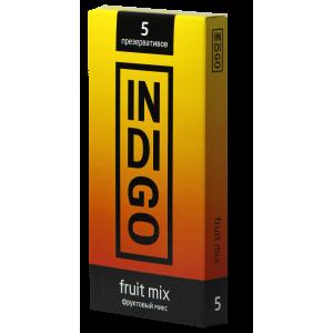 Презервативы Indigo Fruit mix №5 фруктовый микс