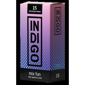 Презервативы Indigo Mix Fun №15 микс удовольствий