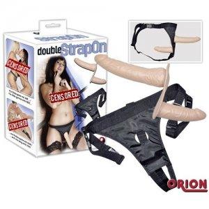 Страпон двойной Double Dongs Strap-on
