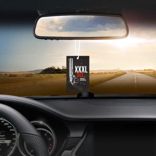 Ароматизатор в авто бумажный Sexdrive Иксель антитабак