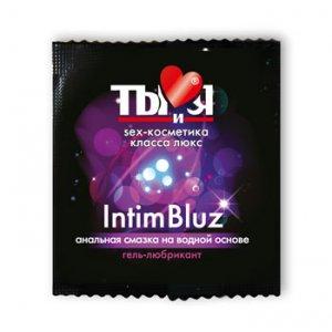 Пробник анального гель-любриканта Intim Bluz 4 гр