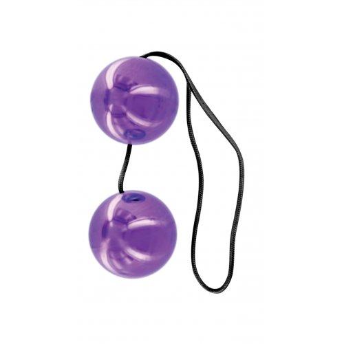Вагинальные шарики Classix Duo-Tone Balls фиолетовые