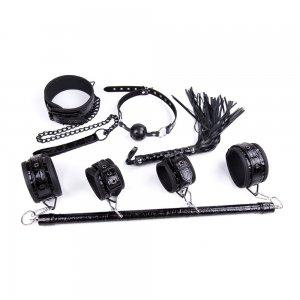 Черный БДСМ набор из 4 игрушек