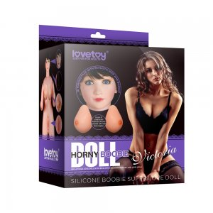Кукла для секса Silicone Boobie Super Love Doll брюнетка